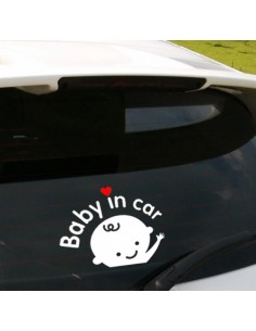 "Sticker ""baby in car """