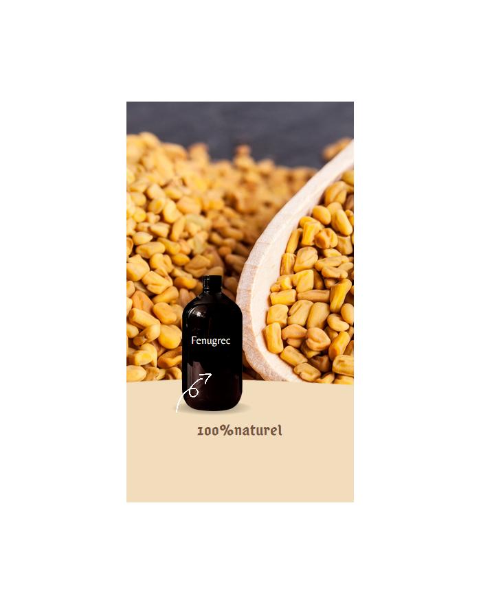 Fenugrec oil - kigelia powder