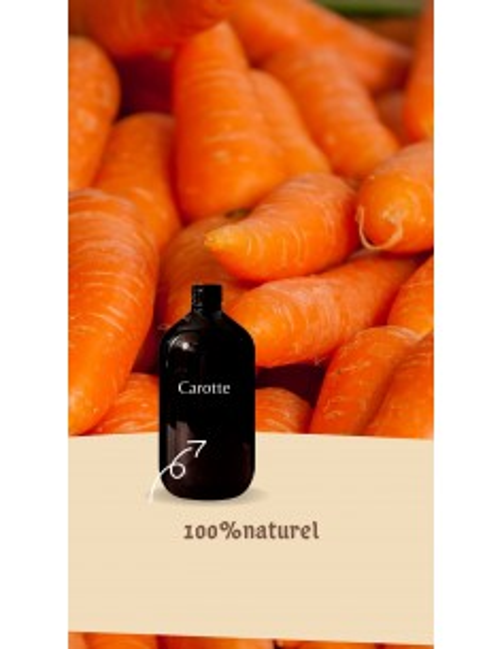 100% natural carrot oil