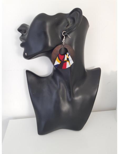 Boucles d'oreilles en wax