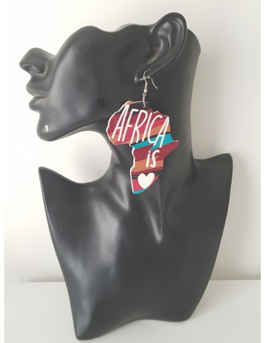 "Boucles d'oreilles ""Naturally dope"""