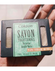 Traditional Verveine soap...