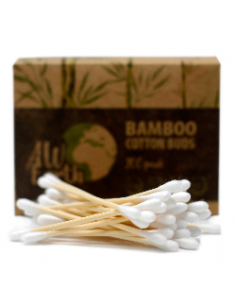 Box of 200 cotton-swabs Bamboo