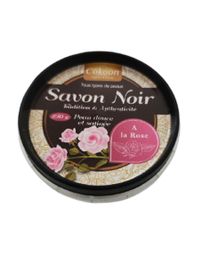 Black Soap with Rose