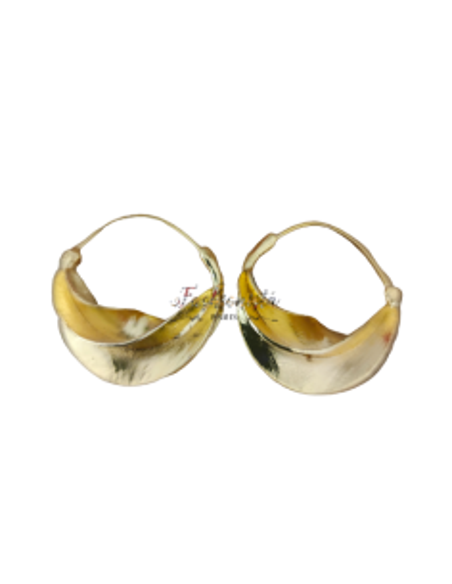 Boucles d'Oreilles Peul (Fulani) du Mali