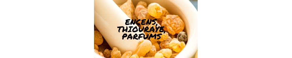 Encens, Thiouraye, Parfums