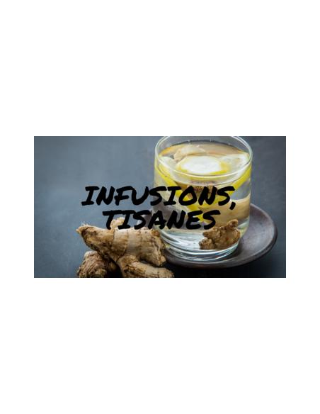 Infusions, herbal teas etc.