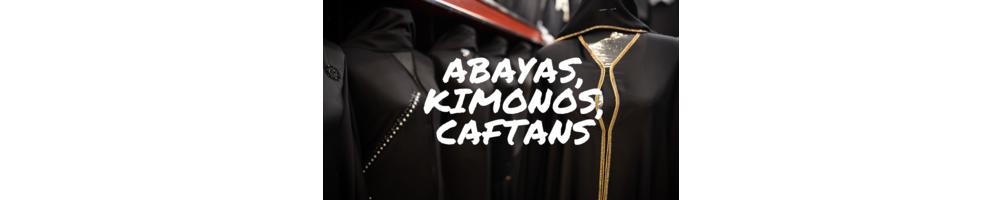 Djellabah, kimonos, caftans et abayas de Dubai