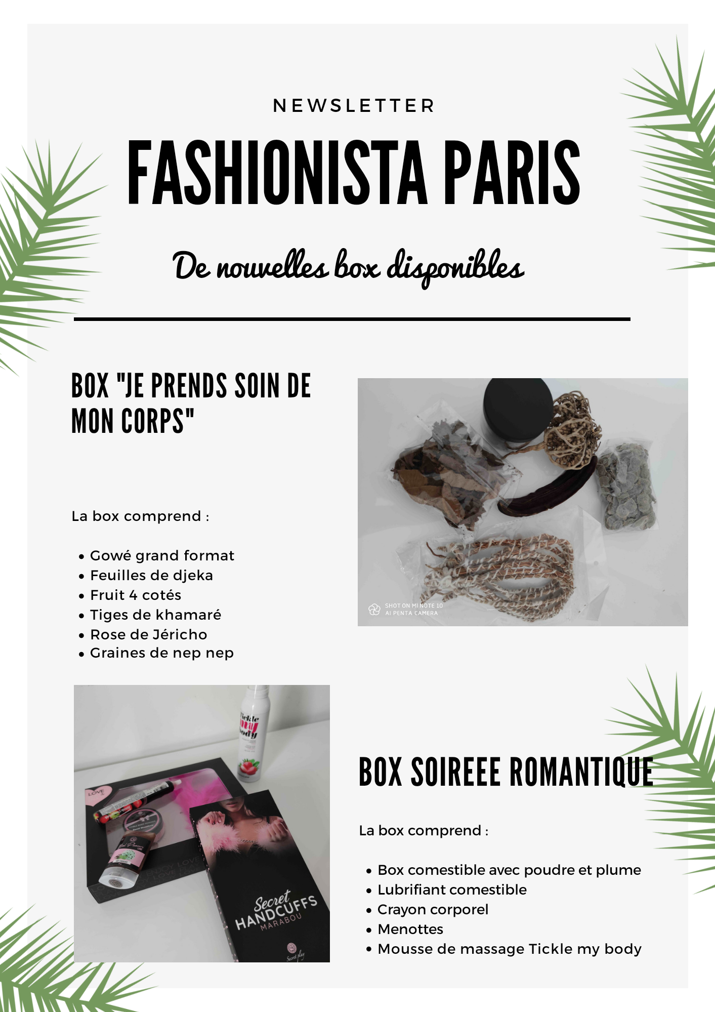 Box Fashionista Paris