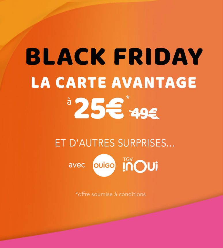 Black Friday Oui SNCF
