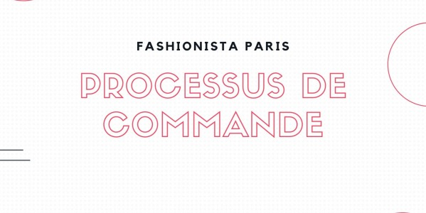 Ordering process on Fashionista Paris